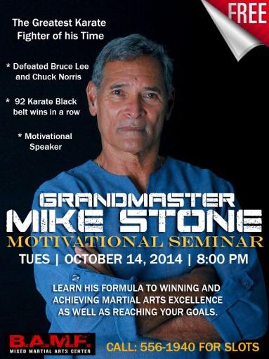 BAMF Mike Stone Seminar